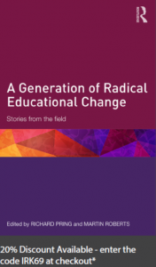 generation of educational change pring roberts