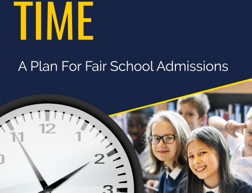 Decision Time : A Plan For Fair School Admissions