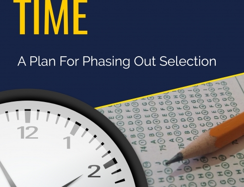 Decision Time : A Plan For Phasing Out Selection