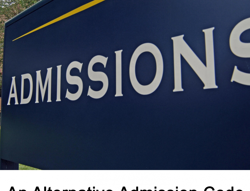 An Alternative Admissions Code